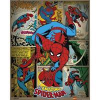 Pyramid Marvel Comics Spider-man Retro Poster 40x50cm