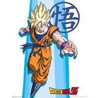 Merkloos Gbeye Dragon Ball Z Ss Goku Poster 40x50cm