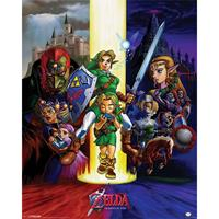 Pyramid The Legend Of Zelda Ocarina Of Time Poster 40x50cm
