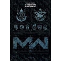 Pyramid Call Of Duty Modern Warfare Fractions Poster 61x91,5cm