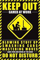 Expo XL Gamer At Work - Maxi Poster (739)