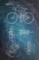 Expo XL Bicycle Patent Drawing - Maxi Poster (776)