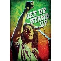 Pyramid Bob Marley Get Up Stand Up Poster 61x91,5cm
