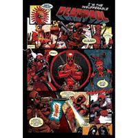 Pyramid Deadpool Panels Poster 61x91,5cm