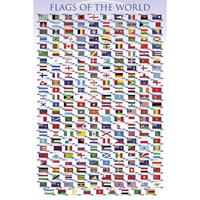 Pyramid Flags Of The World Poster 61x91,5cm