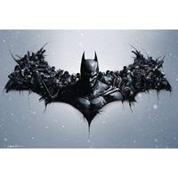 Merkloos Gbeye Batman Origins Arkham Bats Poster 91,5x61cm