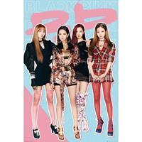 Merkloos Gbeye Black Pink Bp Poster 61x91,5cm