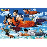 Merkloos Gbeye Dragon Ball Super Flying Poster 91,5x61cm