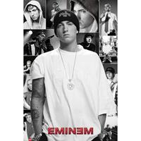 Merkloos Gbeye Eminem Collage Poster 61x91,5cm