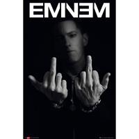 Merkloos Gbeye Eminem Fingers Poster 61x91,5cm