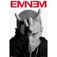 Merkloos Gbeye Eminem Horns Poster 61x91,5cm