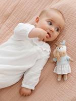 VERTBAUDET Katoenen babypakje van hydrofiel doek ivoor
