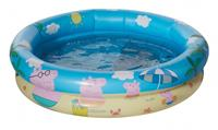 Happy People babyzwembad Peppa Pig 74 x 18 cm blauw