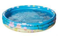 Happy People opblaaszwembad Peppa Pig 122 x 23 cm blauw