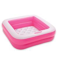 Intex Play Box baby zwembad roze 85 x 85 x 23 cm