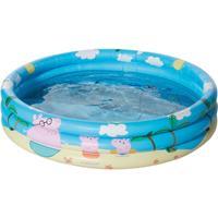 Peppa Pig /Big opblaasbaar zwembad 100 x 23 cm speelgoed Multi
