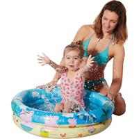 Peppa Pig /Big opblaasbaar zwembad babybadje 78 x 18 cm speelgoed Multi - Opblaaszwembaden