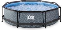 EXIT rond zwembad met filterpomp