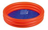 Wehncke opblaaszwembad junior 100 x 30 cm rood/blauw