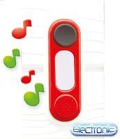 Smoby deurbel speelhuis junior 4 x 14 x 5 cm rood/zwart/wit