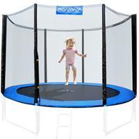Monzana veiligheidsnet voor trampolineØ183cm - voor 6 bevestegingspalen