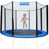 Monzana Veiligheidsnet voor trampolineØ305cm - voor 8 bevestegingspalen