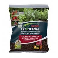 Dcm Ecoterra groenten en kruiden potgrond - 2.5 liter