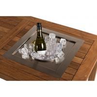 Happycocooning losse inbouw wijnkoeler vierkant 39x39xH23,3 cm