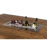 Happycocooning Happy : Losse inbouw wijnkoeler rechthoek - Grijs
