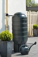 Nature Kunststof Slimline regenton, 250 Liter