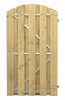 CarpGarant Vuren frame deur 180x100 cm toog verticaal rechtsdraaiend