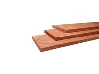Woodvision Fijnbezaagde plank Douglas 15 x 140 mm Geïmpregneerd 180 cm