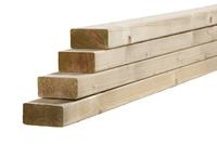 Woodvision Tuinhout regel NE Vuren 45 x 95 mm 300 cm