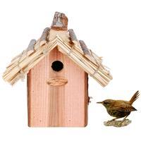 Bestforbirds Nestkast winterkoning rieten dak
