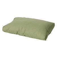 Madison kussens Loungekussen ruggedeelte 73x40cm Carré Basic green