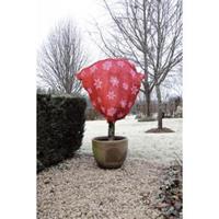 Nature Winter afdekhoes jute rood 75 cm - 200 g/m2
