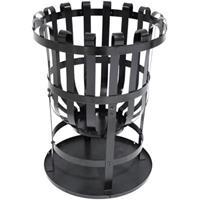 Central Park BBQ & Friends Soccora vuurkorf zwart Ø 40 cm