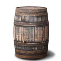 waterton.nl Hergebruikte houten regenton robuust 195 liter
