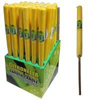 Citronella tuinfakkels 60 cm anti muggen kaarsen Multi