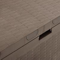 vidaXL Tuinbox 114x47x60 cm bruin