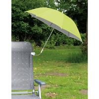 Eurotrail stoelparasol 114 x 85 cm staal/polyester groen