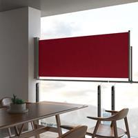 vidaXL Tuinscherm uittrekbaar 100x300 cm rood - vidaXL