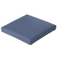Madison kussens Loungekussen 60x60cm Carré   outdoor panama safier blue