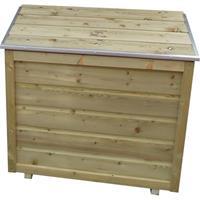 Lutrabox opbergbox voor 2 gasflessen