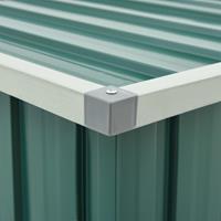 vidaXL Tuinbox 109x67x65 cm groen
