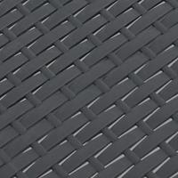 vidaXL Tuintafel 58x58x41 cm PP antraciet