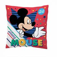 Disney Kussen Mickey Mouse Polyester 35 X 35 Cm Rood