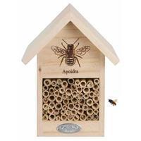 Vurenhouten Bijenhotel 23 Cm - Hotel/huisje Voor Insecten - Bijenhuis/wespenhotel