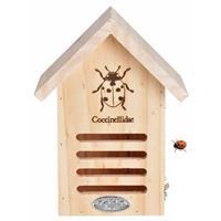 Vurenhouten Lieveheersbeestjeshotel 23 Cm - Hotel/huisje Voor Insecten - Lieveheersbeestjeshuis/wespenhotel