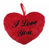 Pluche I Love You Kussentje 18 Cm